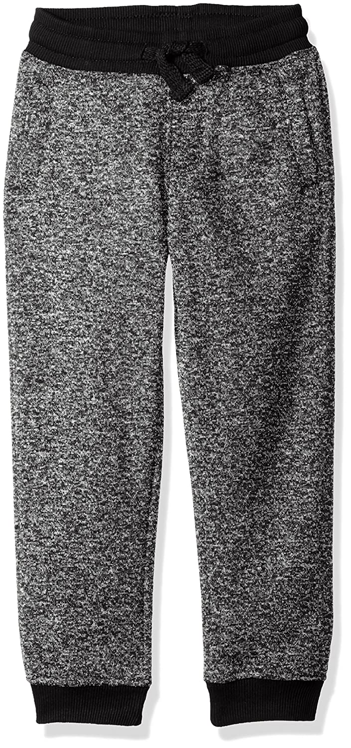 Southpole Boys' Little Boys' Kids Jogger Pants Basic Fleece Solid Clean in Marled Colors 16329-1590