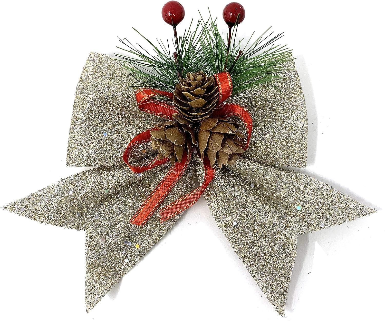 Amazon.com: Allgala - Lazos decorativos para árbol de ...