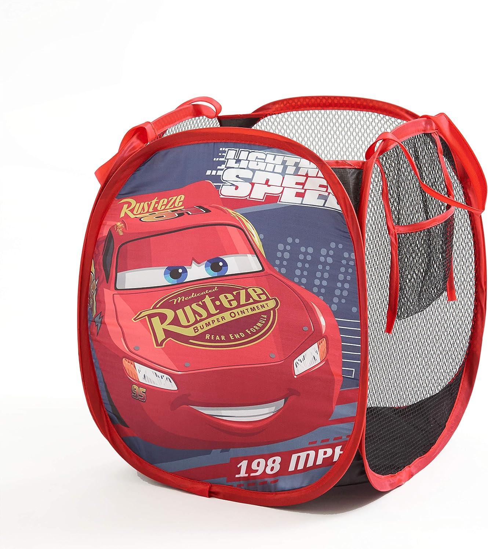 Disney Cars Mini Pop Up Hamper, Red