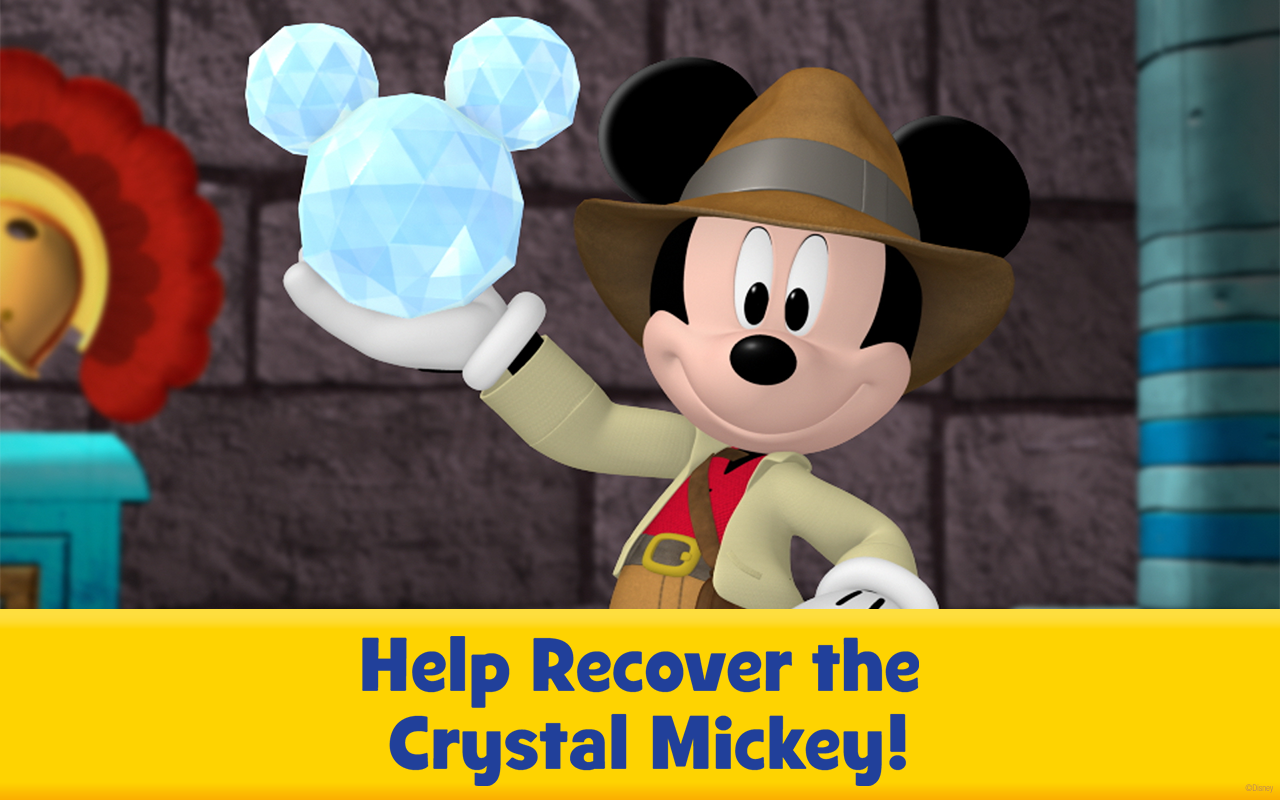 Amazon.com: Quest for the Crystal Mickey - Mickey Mouse Clubhouse - Disney Junior Appisodes: Appstore for Android