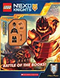 Battle of the Books! (Lego Nexo Knights: Activity Book) [With Mini Figure]