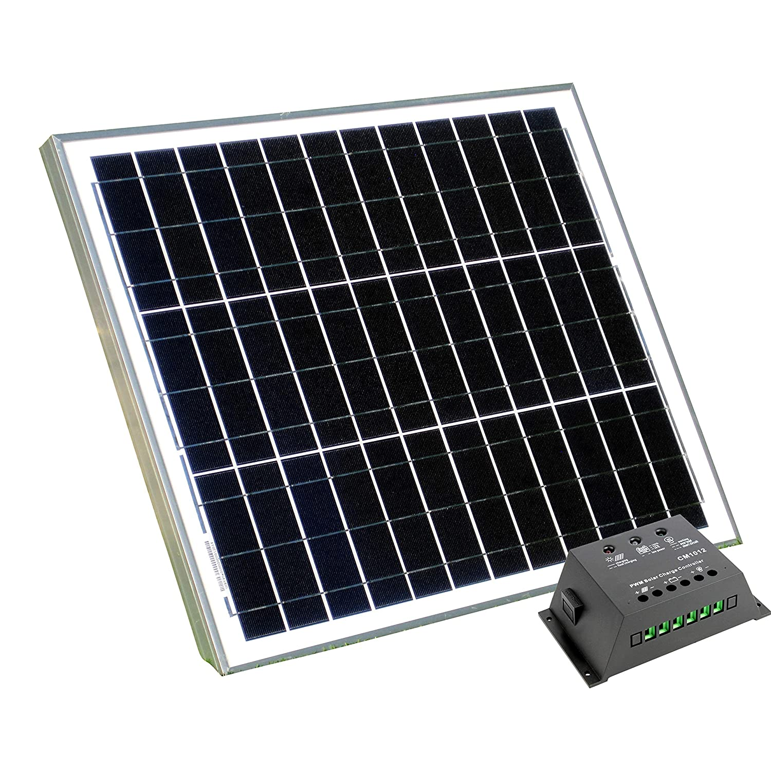 100w Waterproof Solar Cells Solar Panel Kit 10A Controller for Boat Home Camping