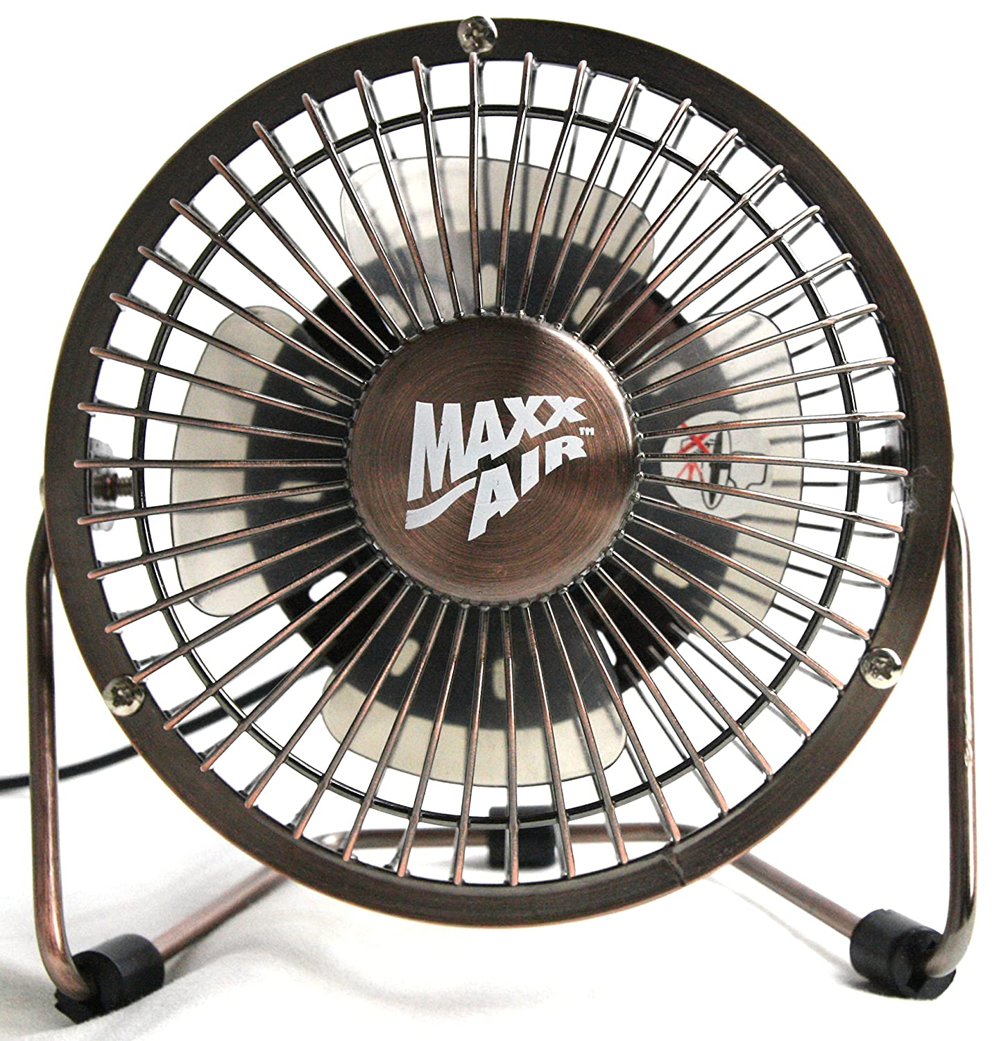 High Velocity Fan Blade : Maxxair hvdf high velocity inch metal v desk fan with