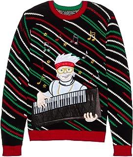 Blizzard Bay Mens Shirtless Santa Ugly Christmas Sweater At Amazon