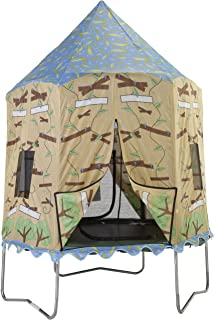 Bazoongi Tree House Tr&oline Tent for 7.5-Feet Jump Pod  sc 1 st  Amazon.com & Amazon.com : Bazoongi Circus Trampoline Tent for 7.5-Feet Jump Pod ...