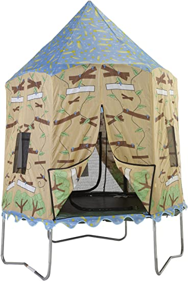 Bazoongi Tree House Tr&oline Tent for 7.5-Feet Jump Pod  sc 1 st  Amazon.com & Amazon.com : Bazoongi Tree House Trampoline Tent for 7.5-Feet Jump ...