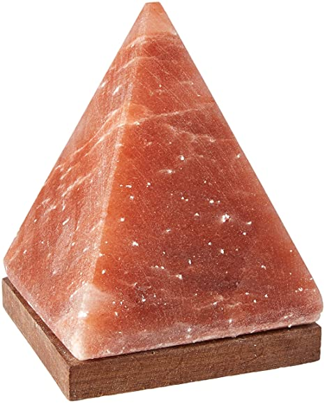 Himalayan salt himalayan crystal salt pyramid salt lamp by aloha bay 6 5 in