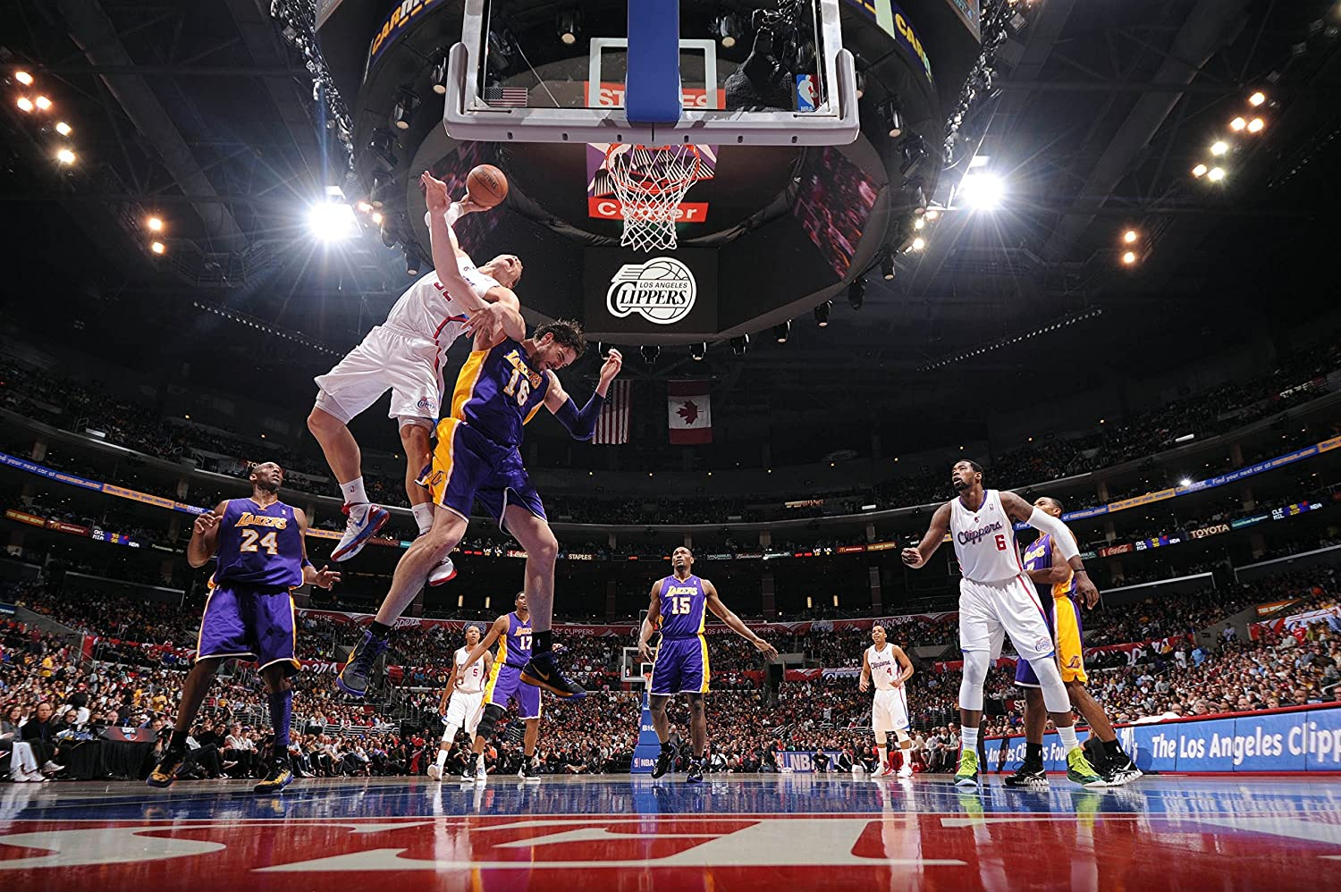 24 by 36 inch NBA Basketball Photo Poster LA CLIPPERS Poster 2