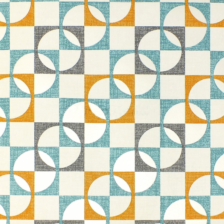 Retro Geometric Squares Pattern