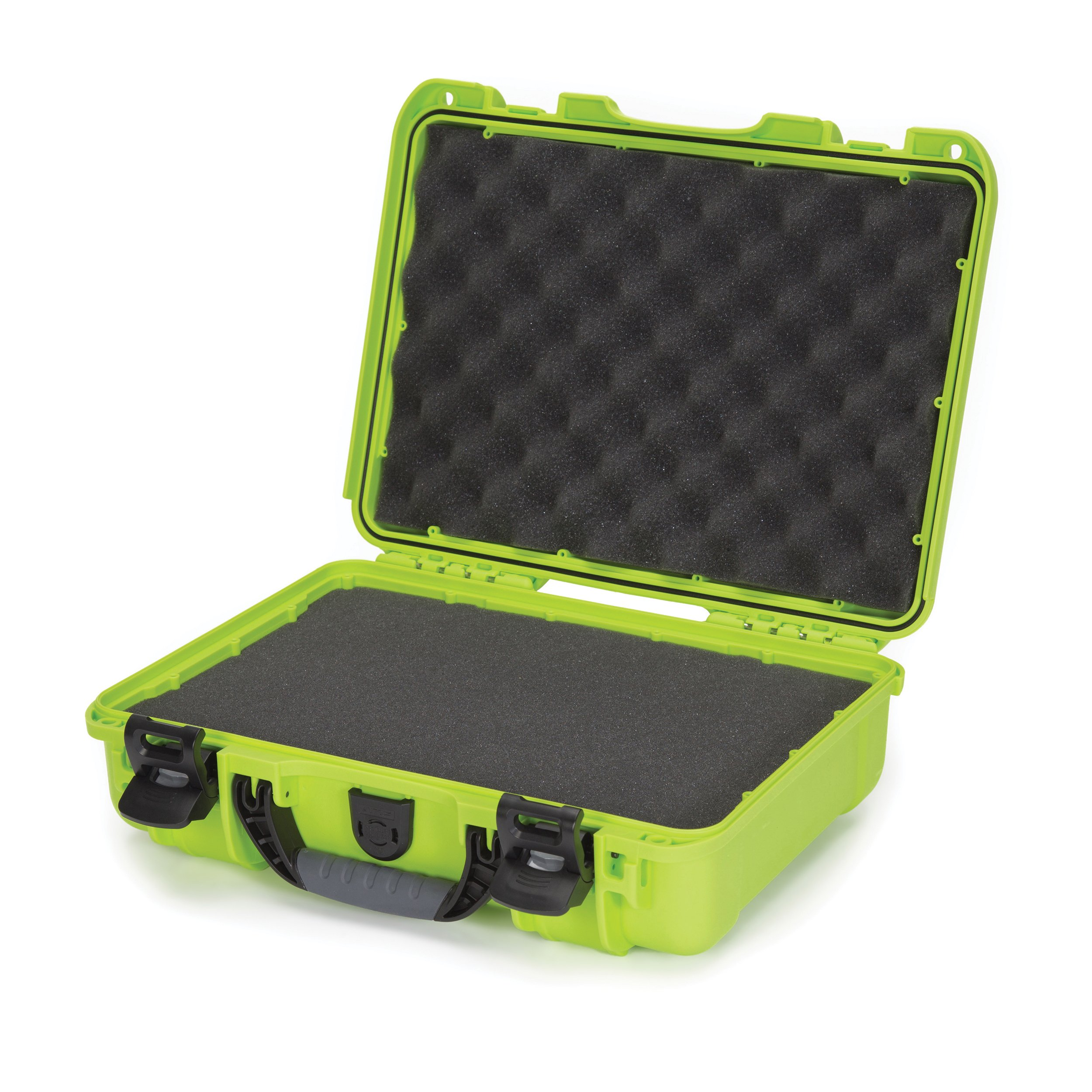 Nanuk 910 Waterproof Hard Case with Foam Insert - Lime
