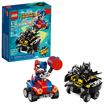 LEGO DC Super Heroes Mighty Micros: Batman vs. Harley Quinn 76092 Building Kit (86 Piece): Toys & Games