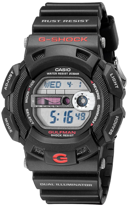 Casio G Shock G9100 1 Men's Black Resin Sport Watch