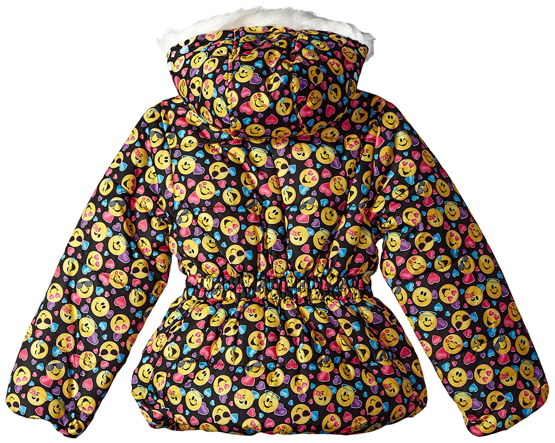 Dreamwave Big Girls Emojination Puffer Jacket 5