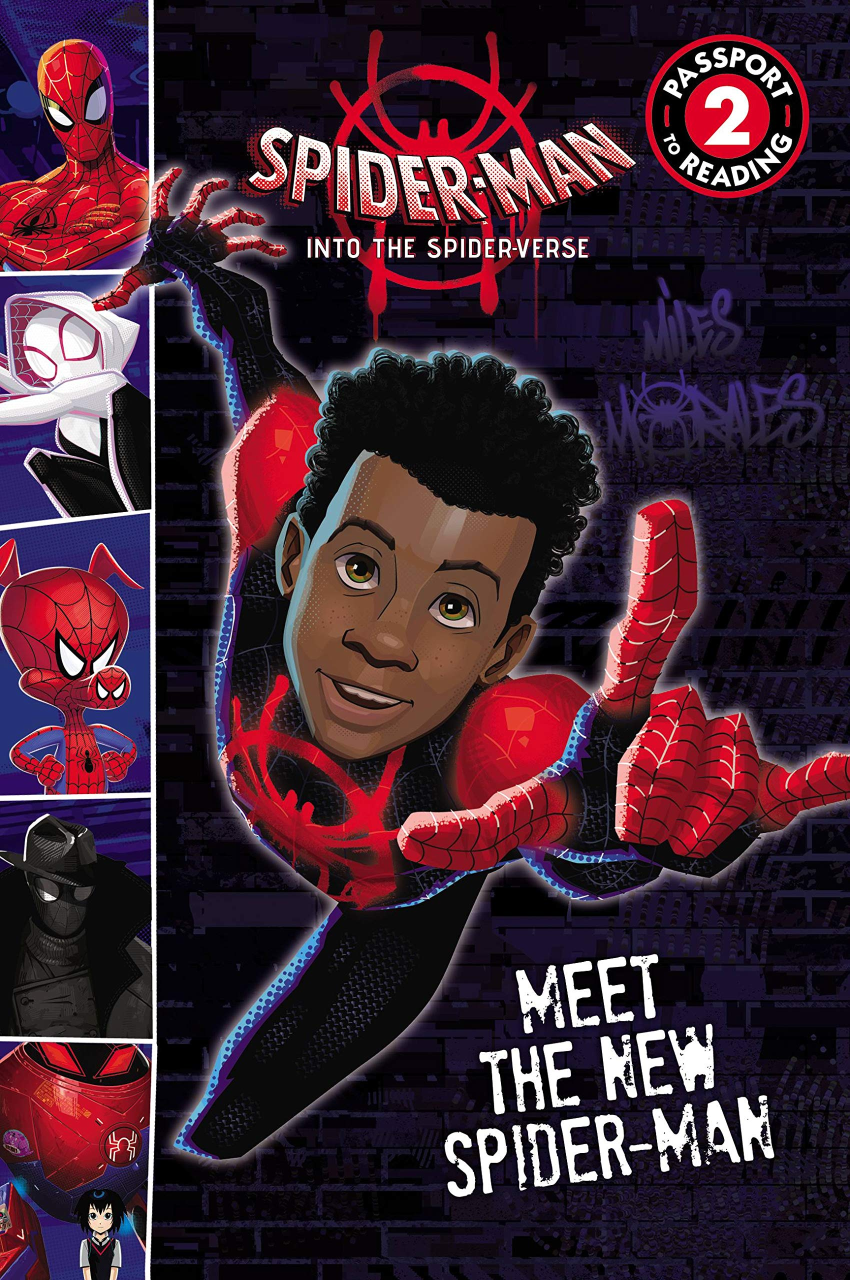 Spider-Man: Into the Spider-Verse: Meet the New Spider-Man (Passport to Reading Level 2)