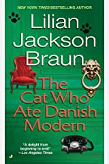 The Cat Who Ate Danish Modern Mass Market Paperback
