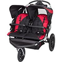 Baby Trend Navigator Lite Double Jogger Stroller (Candy Apple)