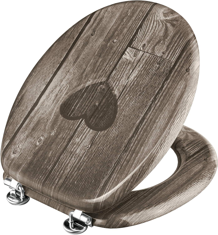 Hochwertiger Holzkern Ansprechendes Design Cornat WC-Sitz Palmen am Strand Komfortables Sitzgef/ühl // Toilettensitz // Klodeckel // KSD531