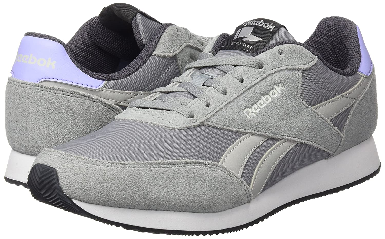 Reebok Damen Royal Classic Jogger 2 (Flint Sneaker, Grau (Flint 2 Grau/noir Skull Grau/ash Grau/Weiß/schwarz), 37 EU - 329fc4