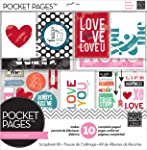 me & my BIG ideas SRK-703 Pocket Pages Kit de scrapbook, Love (Amor), 30.48 cm x 30.48 cm