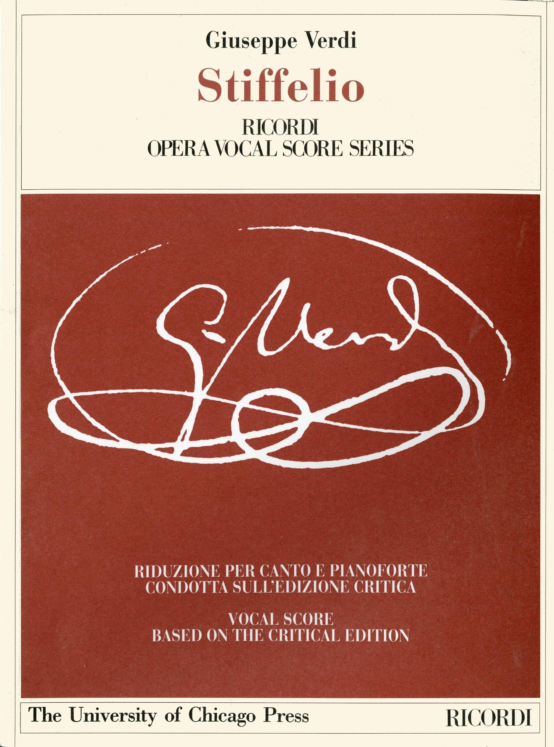 Download Stiffelio: Dramma Lirico in Three Acts by Francesco Maria Piave, the Piano-Vocal Score (The Works of Giuseppe Verdi: Piano-Vocal Scores) pdf epub