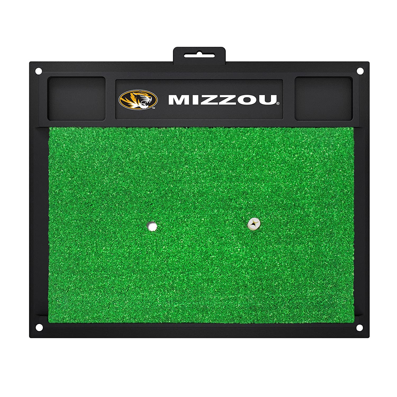 NCAAミズーリ大学Tigers Golf Hitting Matゴルフ練習アクセサリー   B07F1T5D16
