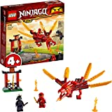 LEGO NINJAGO Legacy Kai's Fire Dragon 71701 Dragon Toy Figure Building Kit