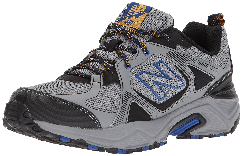 New Balance Men's 481V3 Cushioning Trail Running Shoe B01N43M42G 7 D(M) US|Steel