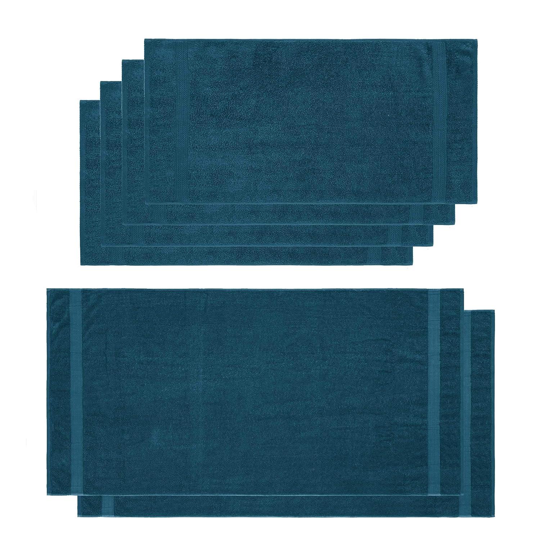 Lumaland Premium Set 4 Toalla de Manos (50 x 100 cm) + 2 Toallas ...