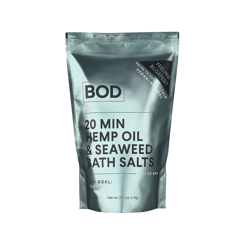 BOD Seaweed and Hemp Oil Bath Salts Be For Beauty BE0053