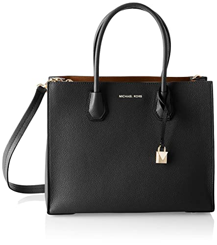 ac082baf7485 Amazon.com: MICHAEL Michael Kors Women's Mercer Tote, Black, One ...