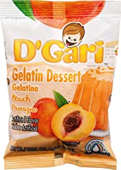 DGARI Gelatin Dessert Mix, Prepare with Water 4.2 oz - Pack of 24