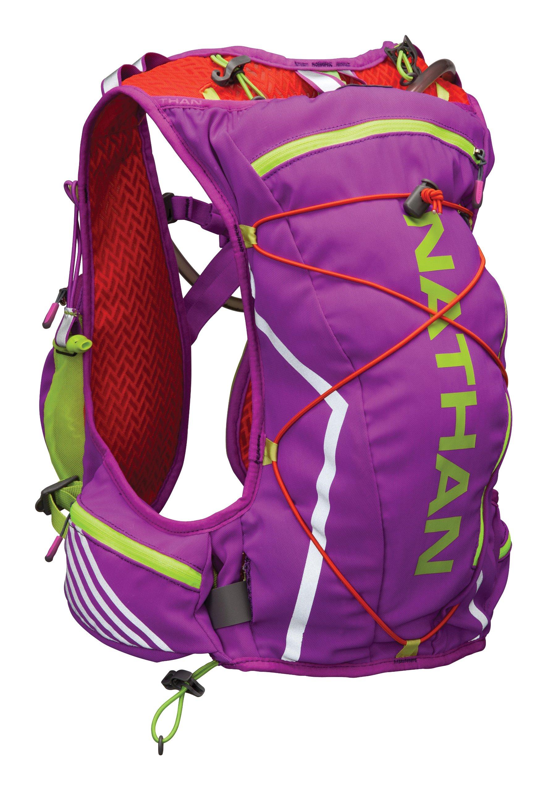 Nathan VaporShadow Race Vest - Women's (Purple Cactus Flower Tangerine Tango, XS)