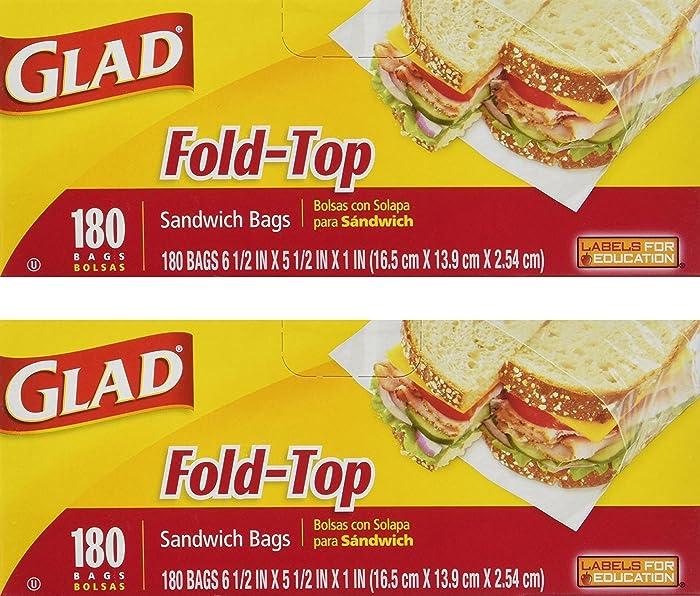Top 9 Fold Over Food Baggies