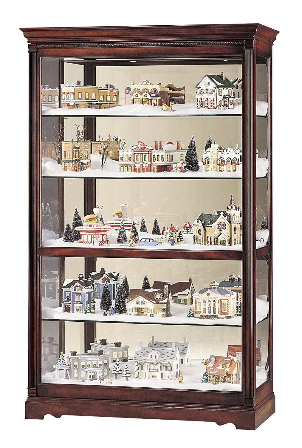 Lovely Amazon.com: Howard Miller 680 235 Townsend Curio Cabinet By: Kitchen U0026  Dining
