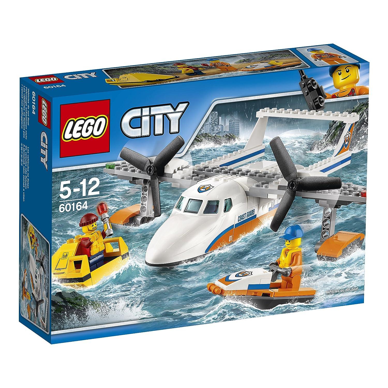 LEGO City Coast Guard Avión de rescate marítimo