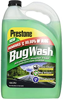 Prestone Original Bug Wash Windshield Washer Fluid, Removes Grime, Bird Droppings, Power Cleaner