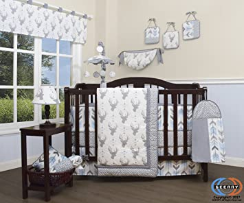 Excellent Amazon.com : GEENNY 13 Piece Boutique Baby Nursery Crib Bedding  HL88