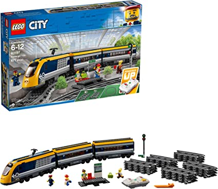 New Release For 2018! 60197 LEGO City Trains Passenger Train 677 Pieces Age 6