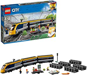 LEGO City Passenger Train Building Kit (677 Piece), Multicolor
