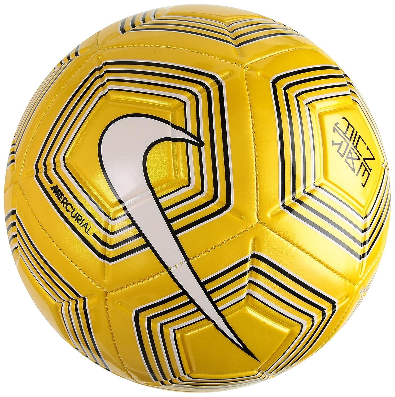 Nike Neymar Jr Strike Exterior - Pelotas de fútbol (Negro, Blanco ...