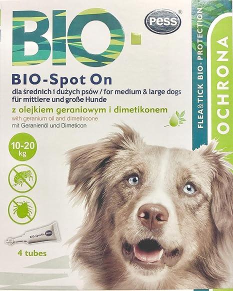 Bio Spot-On 4 Pipetas I Medio Natural contra garrapatas y ...