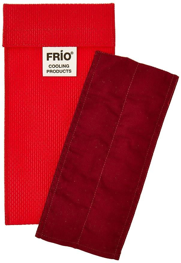 Frio - Bolsa isotérmica para mantener insulina, color rojo, 6.5 x 18 cm: Amazon.es: Salud y cuidado personal