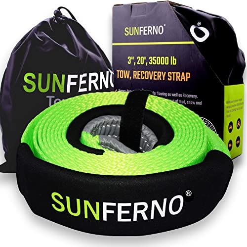 Sunferno Tow Recovery Strap