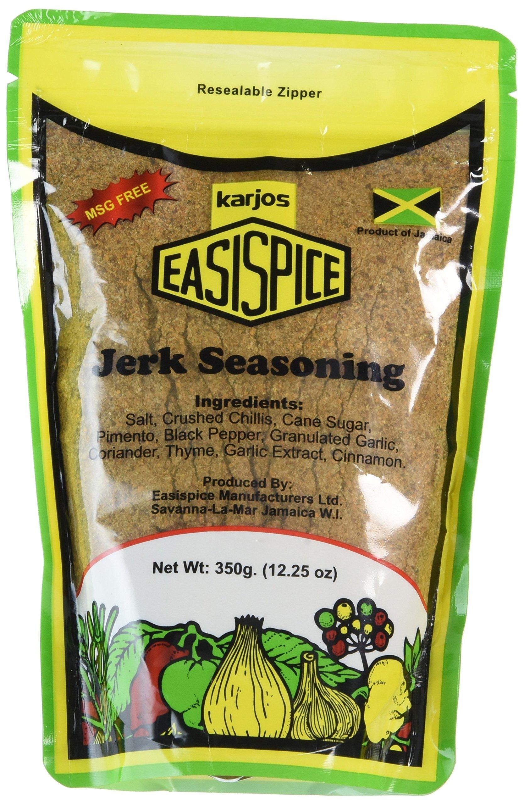 Karjos Easispice Jerk Seasoning -350g/12.25 oz