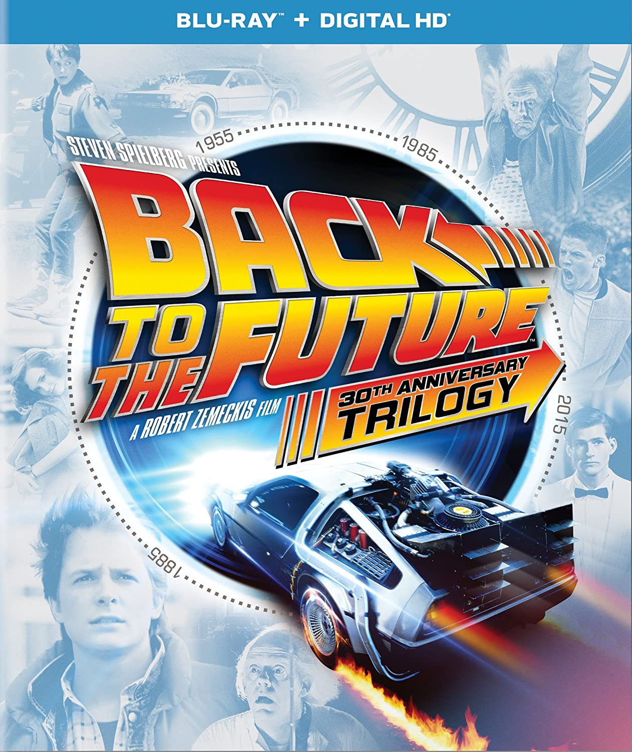 Back to the Future 30th Anniversary Trilogy [Blu-ray]
