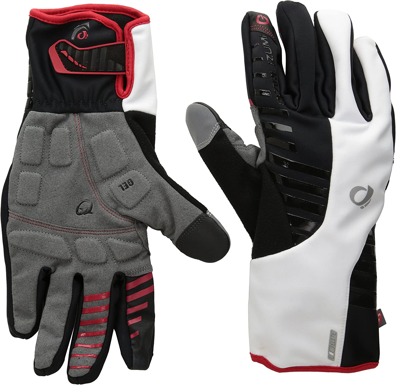 PEARL iZUMI Select Softshell Cycling Glove Long Finger Gloves Black Large Lg
