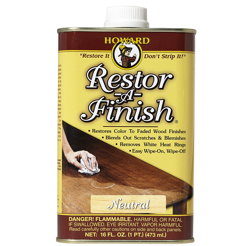 Howard Products RF1016 Restor-A-Finish, 16 oz, Neutral