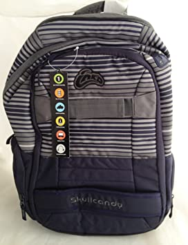 skullcandy ink d backpack blue gray multi compliments amazon ca