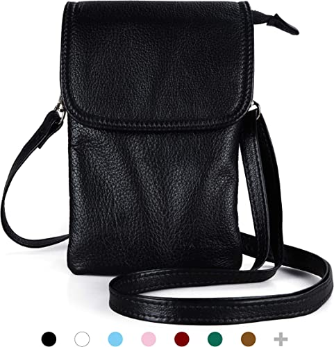 Women Leather Cell Phone Wallet Purse