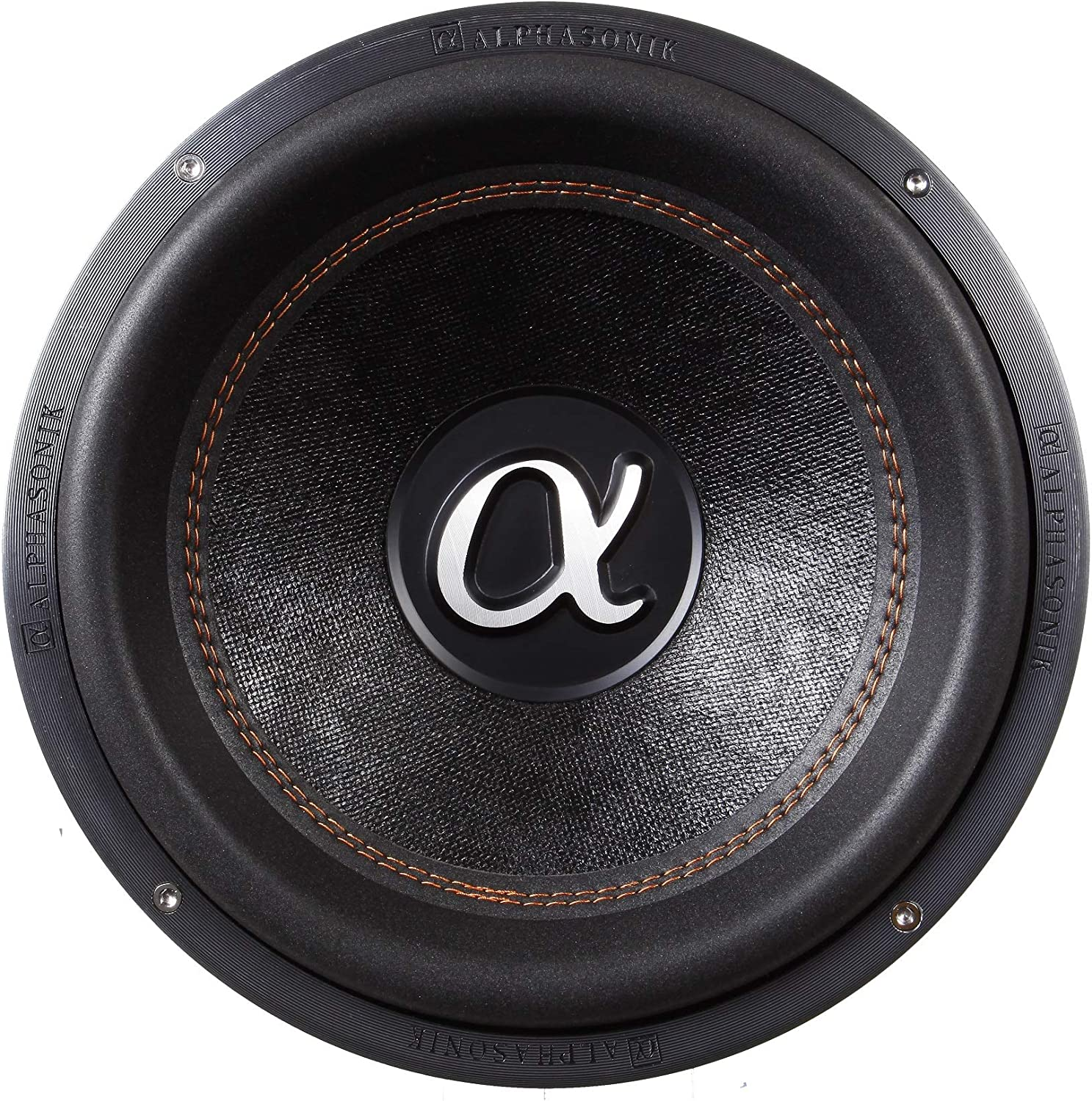 """1100 Watts RMS Dual 4 Ohm Car Subwoofer Die Cast Aluminum Basket w// Double Stacked Magnets Carbon Fiber Cone Cooling Rings System Sub Woofer Alphasonik VSW810 Venum 800 Series 10/"""" 3300 Watts Max"""